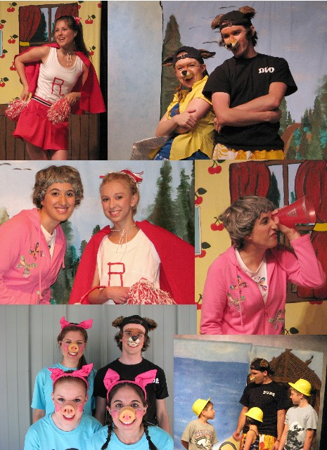 2010 Little Red & the 3 Little Pigs
